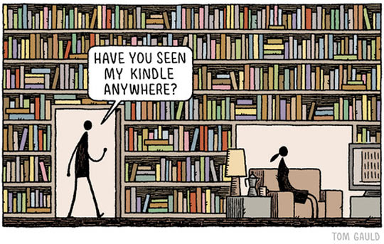 funny-couple-talking-library-comic