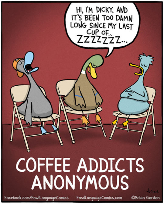 Coffee Addicts Anonymous