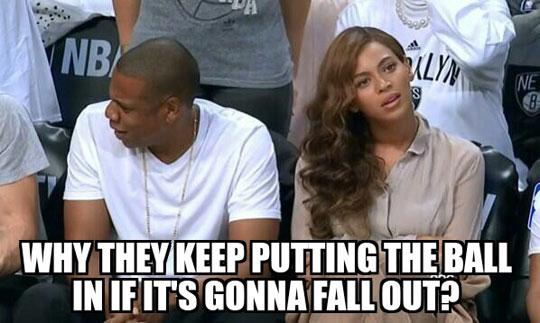 Poor Beyonce