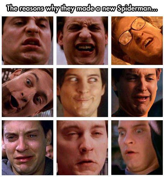 funny-faces-Tobey-Maguire-Spiderman-Peter