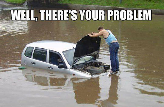 funny-flooded-car-water-problem-engine
