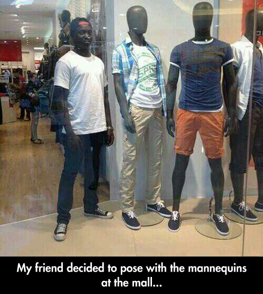funny-friend-black-mannequins-mall
