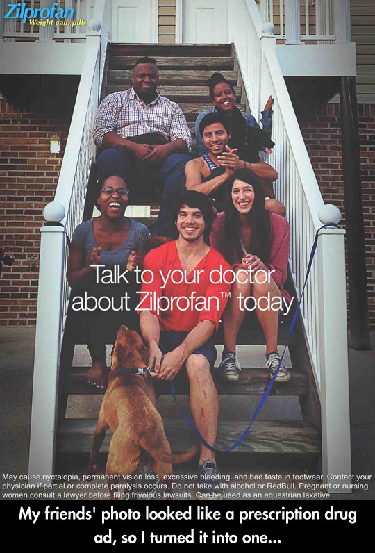 funny-friend-photo-ad-stairs-black-family