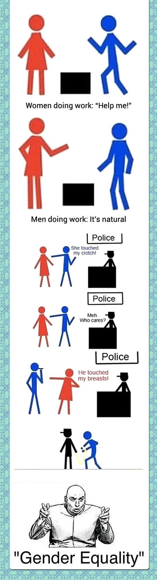 funny-gender-equality-hit-work-police