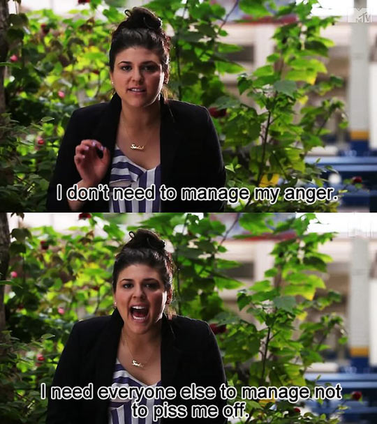 When People Say I Have Anger Issues