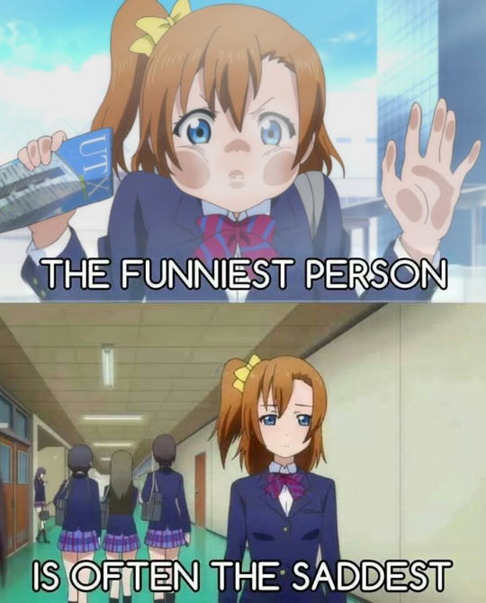 Funny Anime Pics: Funniest Person In A Group