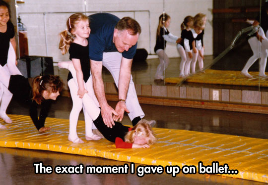 I Tried Ballet, Once