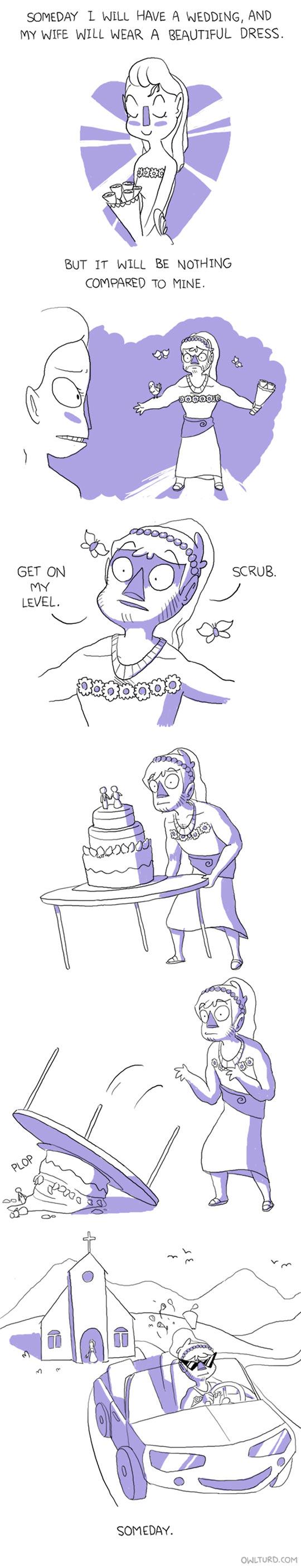 funny-girl-wedding-dress-comic