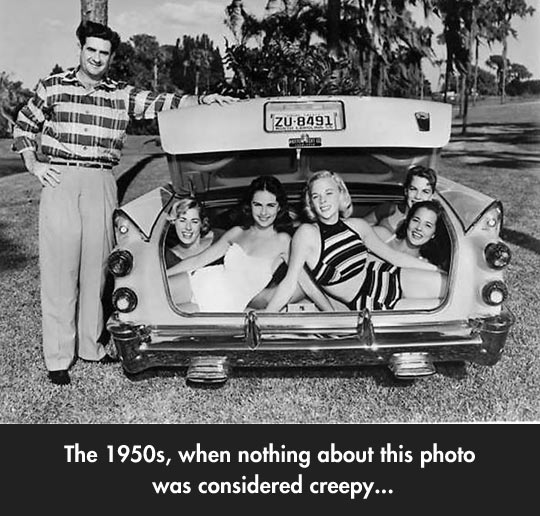 We've Come A Long Way Since The 50s