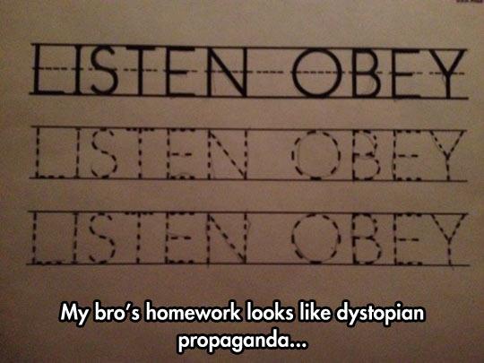 Dystopian Propaganda