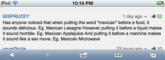 The Word 'Mexican'