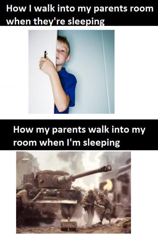 funny-kid-parents-room-sleeping