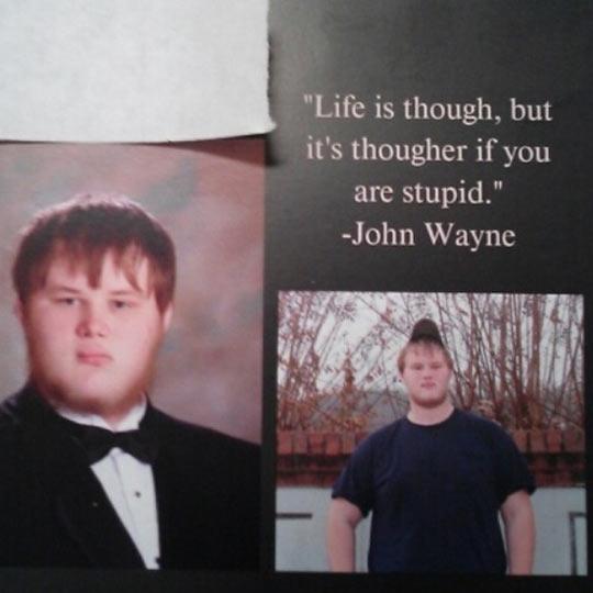 Oh Irony, You Never Fail