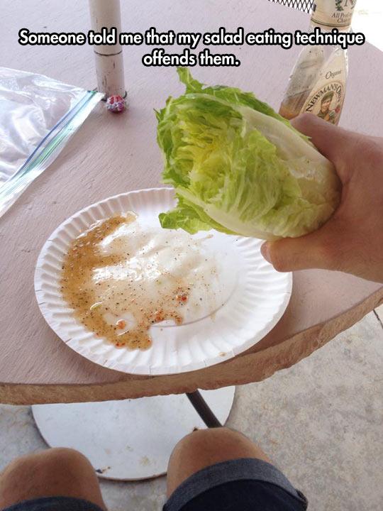 funny-lettuce-salad-bite-dressing