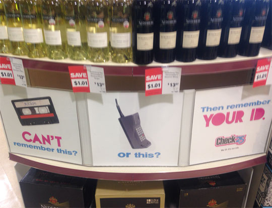 Clever Liquor Store Signs
