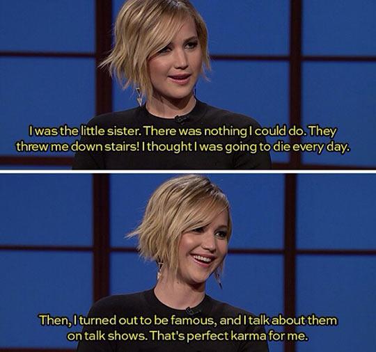 Jennifer Lawrence Karma