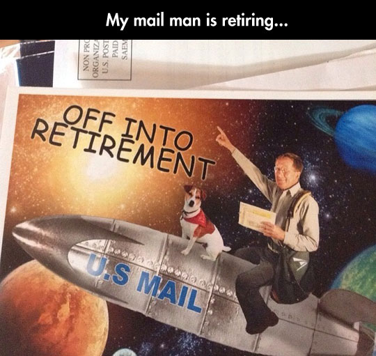 The Coolest Mail Man