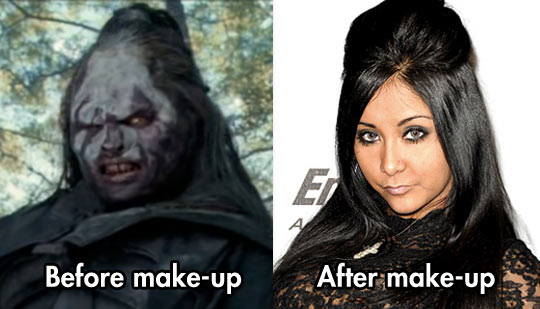 It's Amazing What Makeup Can Do These Days