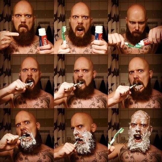 funny-man-beard-brushing-teeth