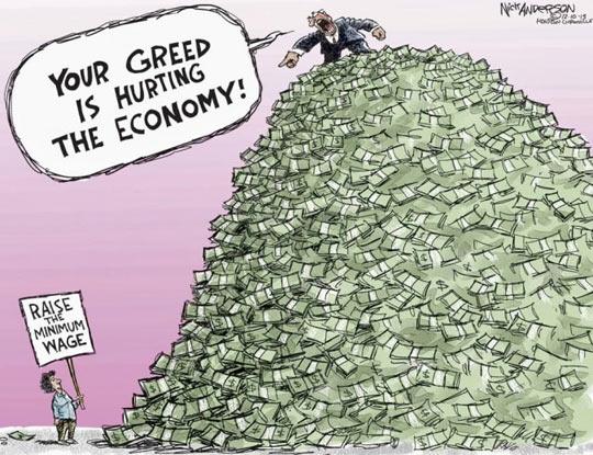 Greedy People