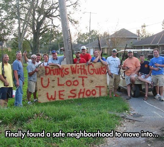 funny-men-weapon-drunk-sign-warning