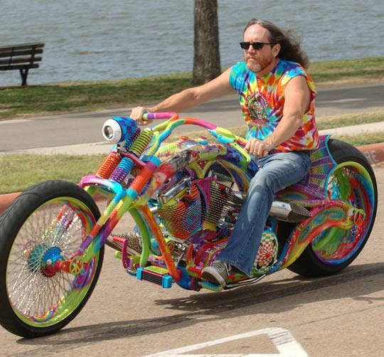 Sweet Motorcycle Paint Jobs