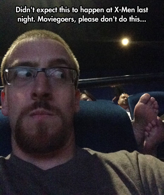 This Is Why I Always Carry A Feather To The Movies