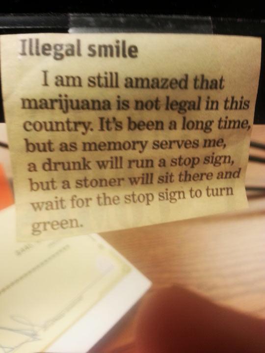 Illegal Smiles