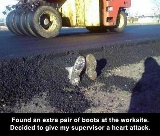 funny-pair-boots-work-street
