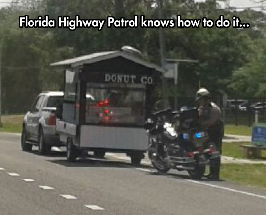 That Is One Clever Cop