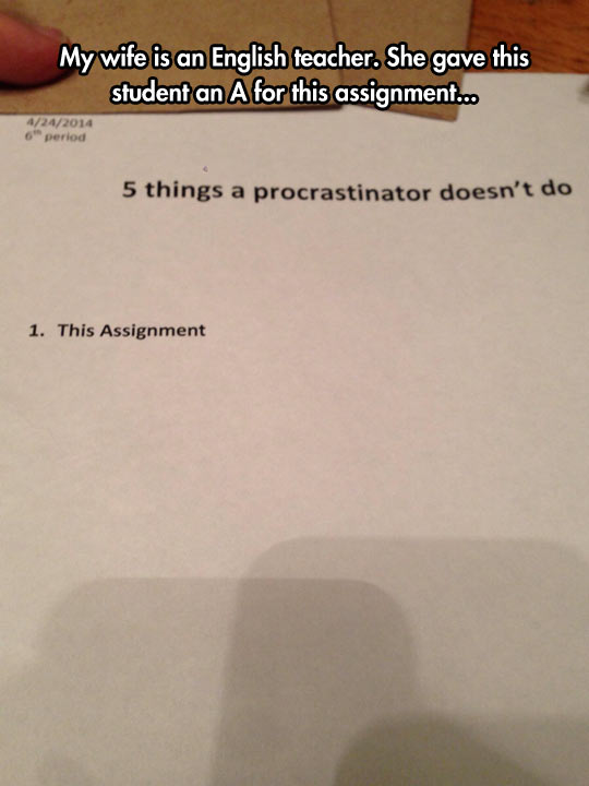 funny-procrastinator-exam-school-assignment
