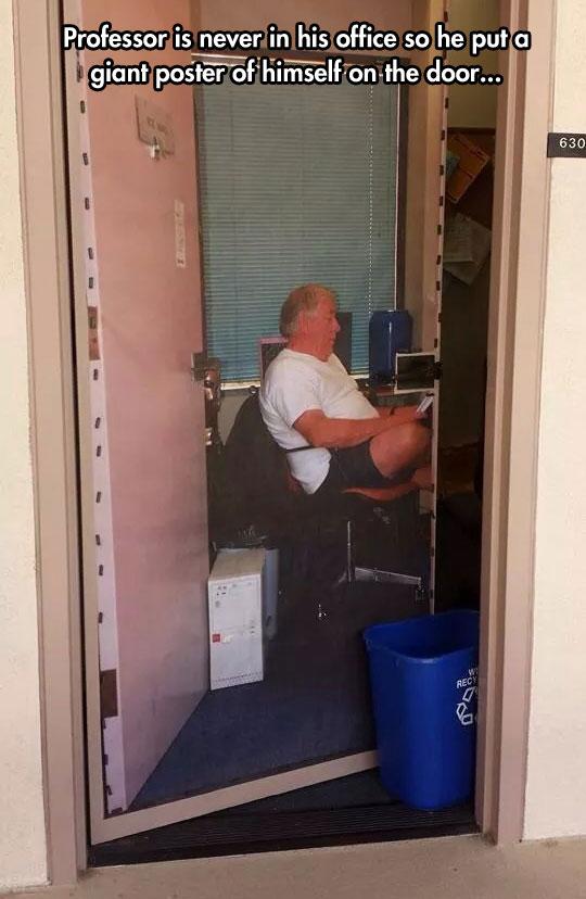 funny-professor-door-poster-office