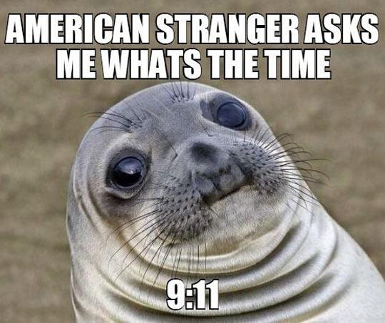 A Very Awkward Situation