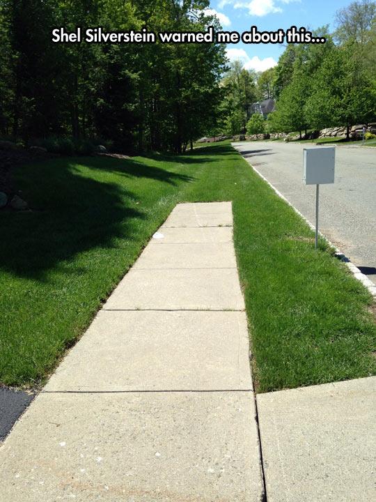 funny-sidewalk-end-road-grass-forest