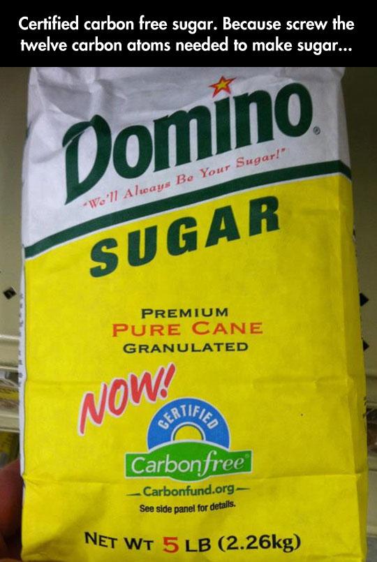 Carbon Free Sugar