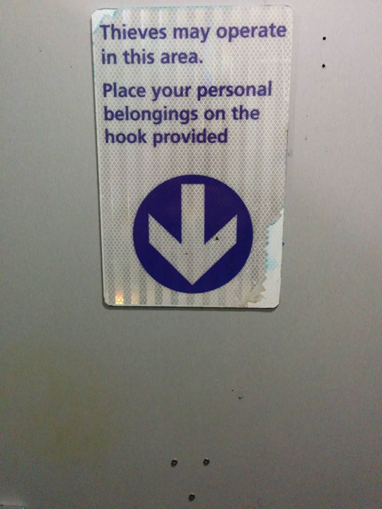 It's nice of them to allow thieves to operate…