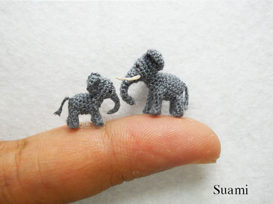 funny-tiny-animals-knitted-Suami-elephant