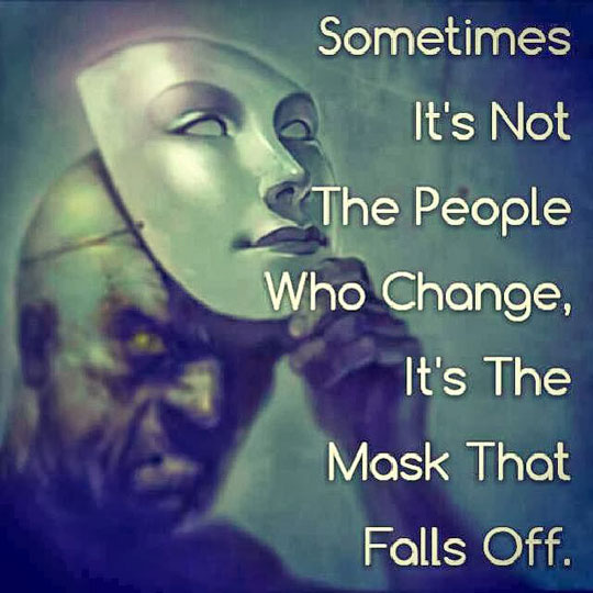 The Face Under the Mask