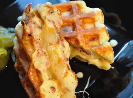 funny-waffles-cheese-bacon-amazing