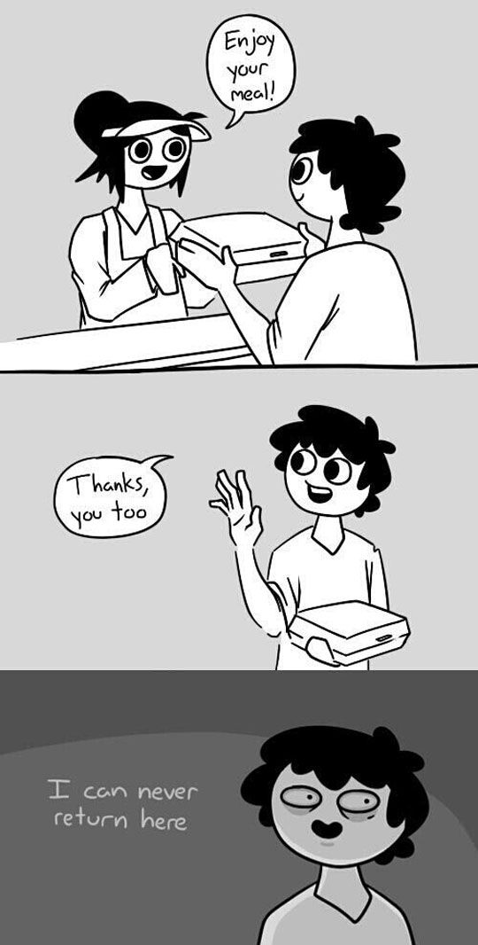 funny-webcomic-awkward-situation-fast-food