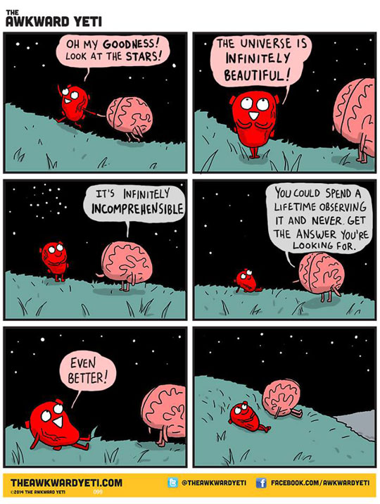 The Universe Is Infinitely Beautiful