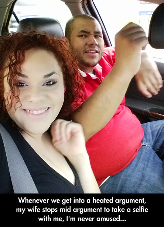 funny-wife-husband-car-selfie-argument