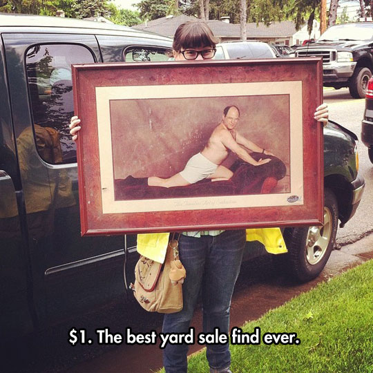 funny-yard-sale-picture-George-Seinfeld