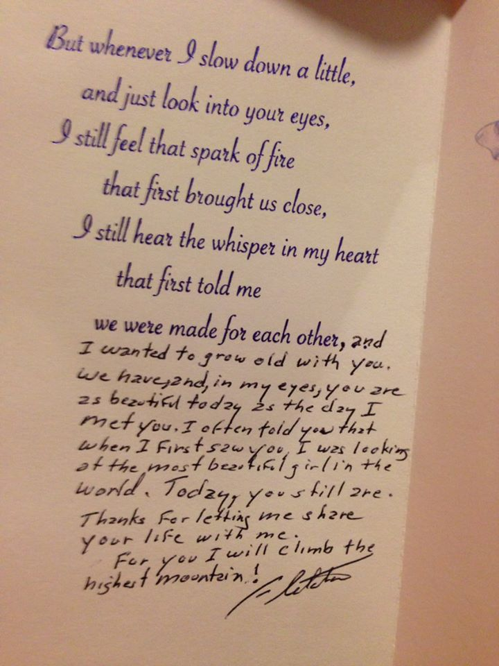 88 Year Old Man's Heartwrenching Birthday Letter to His Wife of 67 Years.