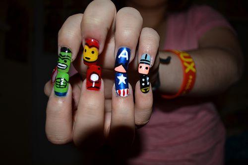 Avengers_nails