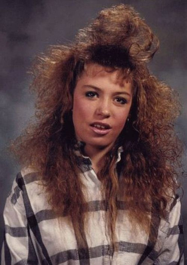15 Crazy 80s Hairstyles Like Totally