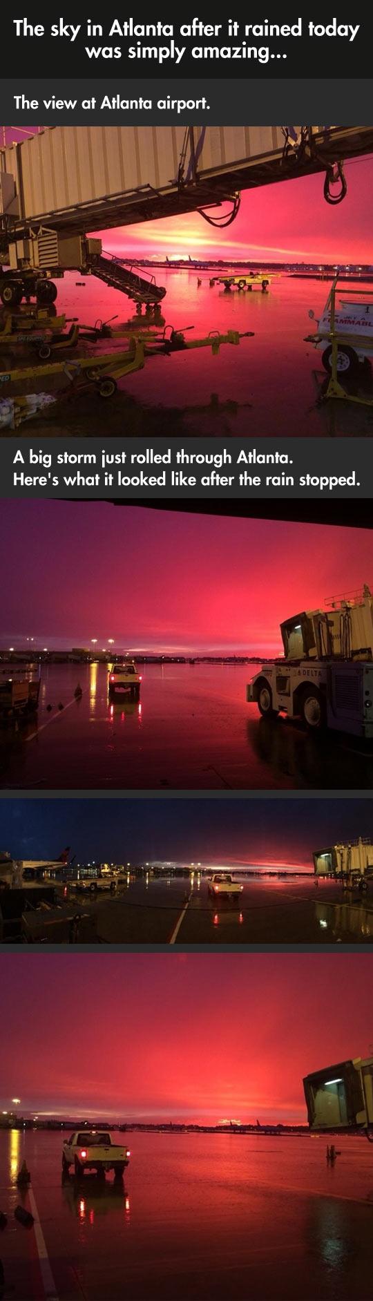 Beautiful Sky After Storm