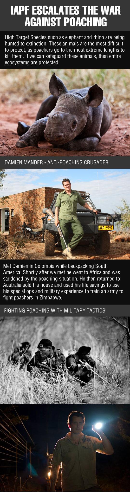 The Anti-Poaching Crusader