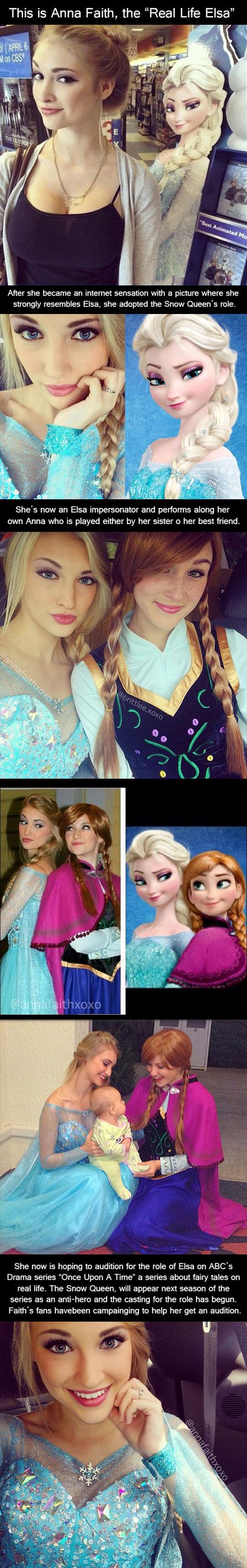 Meet The Real Life Version Of Elsa