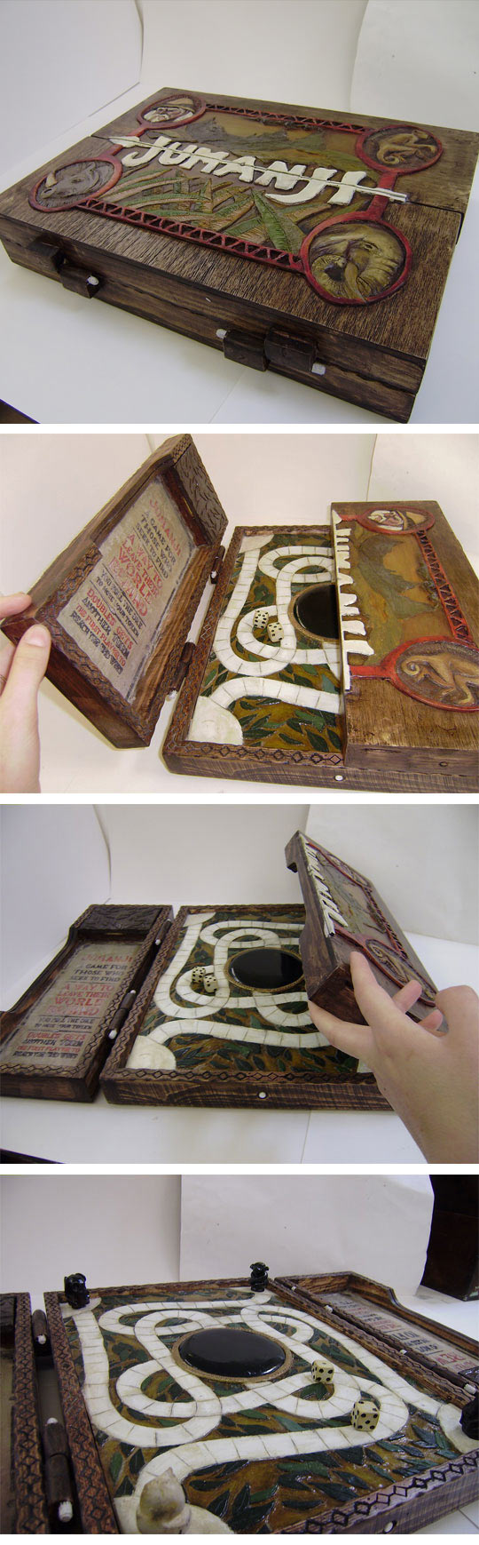 Amazing Handmade Jumanji Game Box